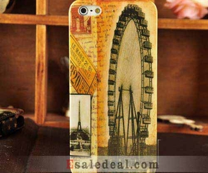 ferris wheel, hard cover, and vintage image