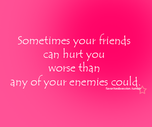 enemies, hurt, and quotes image