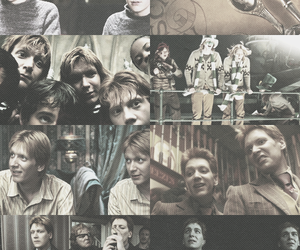 harry potter, fred weasley, and twins image