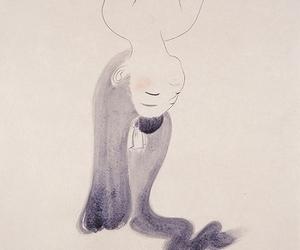 girl, hair, and japanese art image