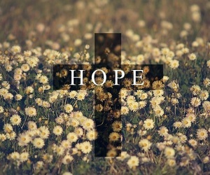 hope, flowers, and text image