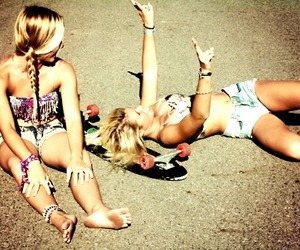 blond, girl, and hipster image