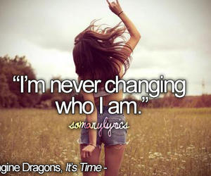 imagine dragons, never, and quote image