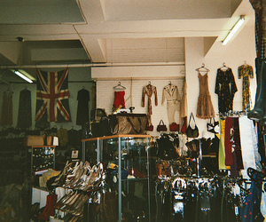 clothes, vintage, and shop image
