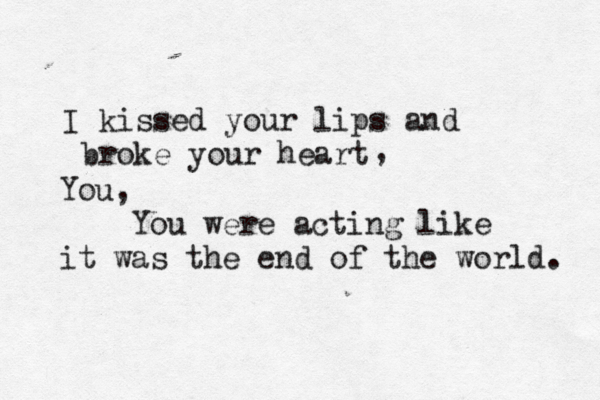 U2 Until The End Of The World Quote About Black And White Break Up