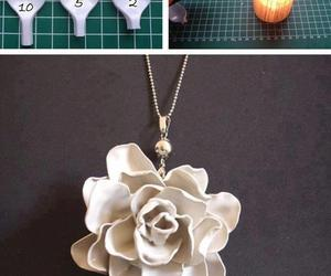 diy, flowers, and spoon image
