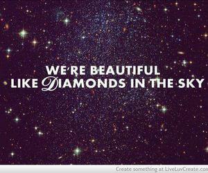 diamond, rihanna, and beautiful image