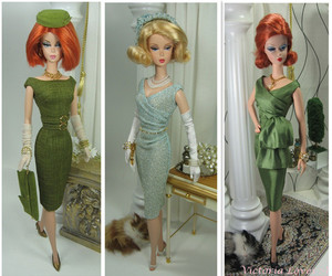 barbie, chic, and modern image