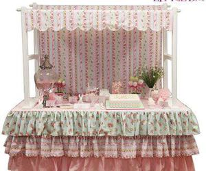 candy buffet, sweets table, and lolly buffet image