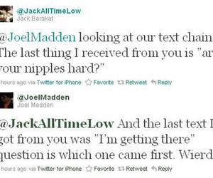 all time low, jack barakat, and Joel Madden image