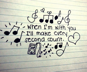 love and music image