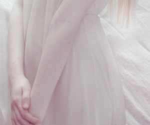 albino, dress, and long image