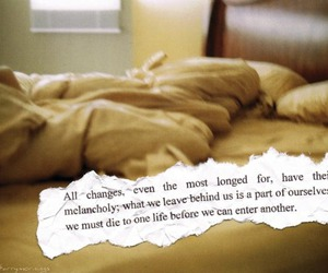 bed, change, and quote image