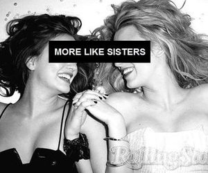 sisters, friends, and gossip girl image