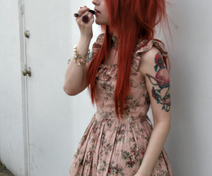 dress and tattoo image