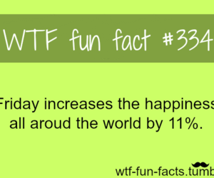 funny, fact, and friday image