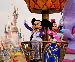 disney, mickey, and disneyland image