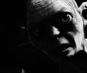 lord of the rings, the hobbit, and gollum image