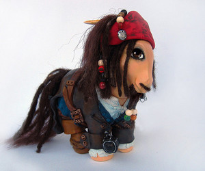 jack sparrow and my little pony image