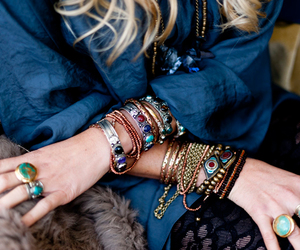 jewelry, bracelets, and rings image