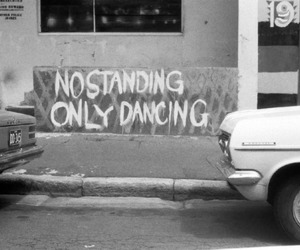 dancing, dance, and black and white image