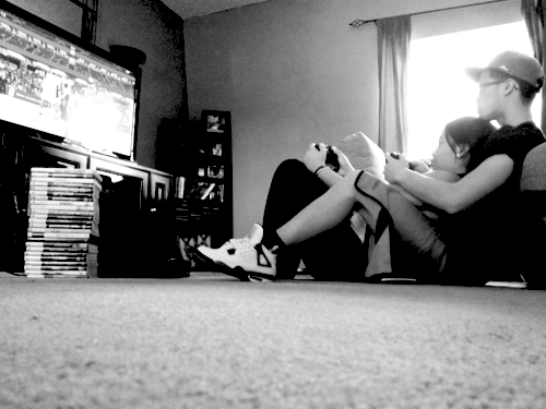 Gamer Couple Tumblr Uploaded By Sabine On We Heart It