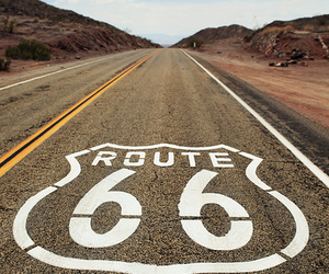 route 66, road, and Dream image