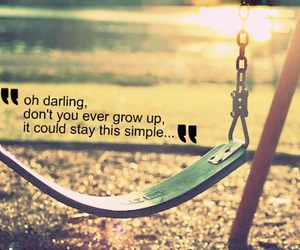 never grow up, quote, and Taylor Swift image
