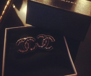 chanel, diamonds, and piercing image