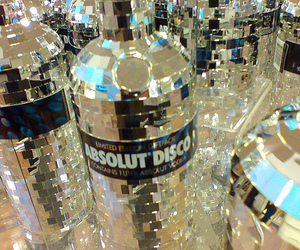 vodka, absolut, and disco image