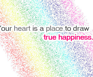 happiness, heart, and text image