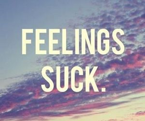 feelings, sucks, and quote image