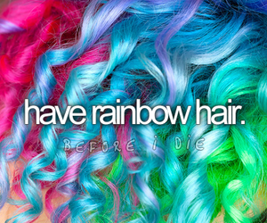 before i die, hair, and text image