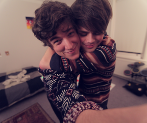 brothers, sweaters, and pj image