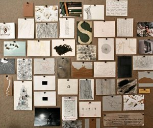 Collage, design, and drawings image