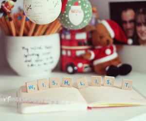 wish, christmas, and wish list image