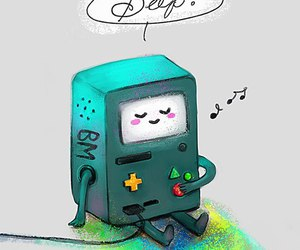 adventure time and bmo image