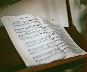 music, vintage, and piano image