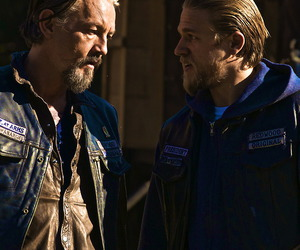 Charlie Hunnam, sons of anarchy, and jax teller image