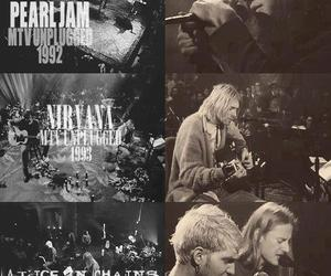 alice in chains, nirvana, and pearl jam image