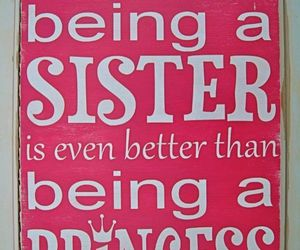 princess, sisters, and quote image