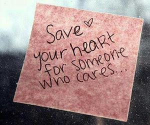 heart, save, and cares image