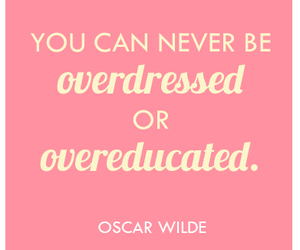 quote, oscar wilde, and education image