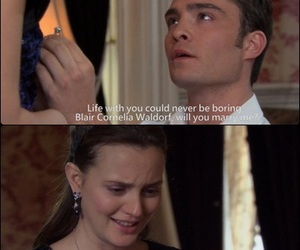 gossip girl, chuck, and chuck bass image