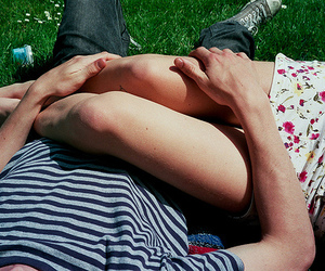 arms, relax, and couple image