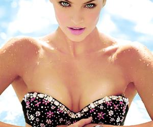 beautiful, bikini, and model image