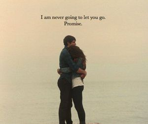 never let you go, for ever, and love you image