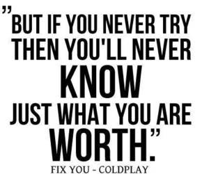 coldplay, fix you, and quotes image