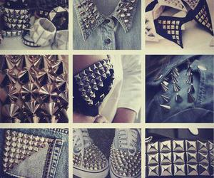 fashion, shoes, and studs image