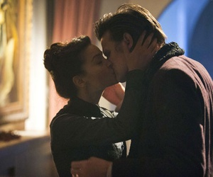 kiss, clara, and doctor who image